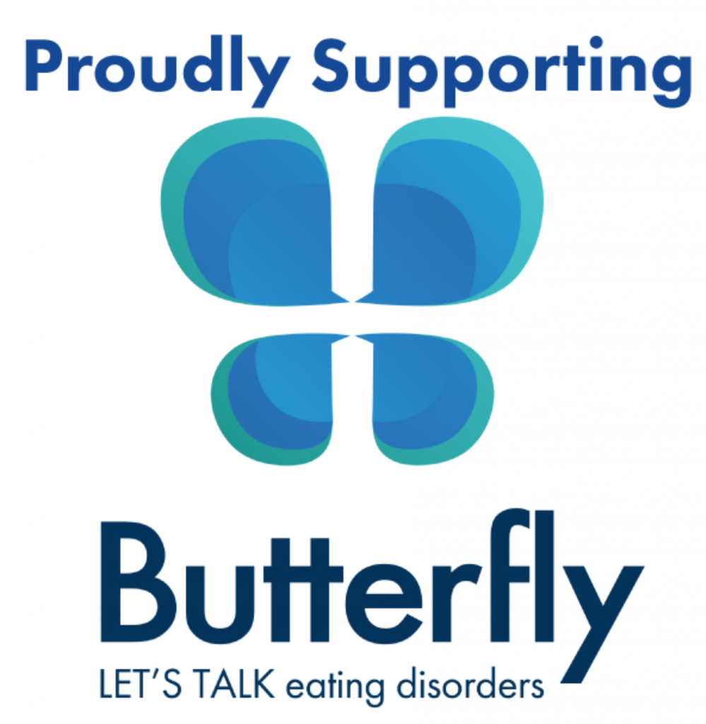 Proudly Supporting The Butterfly Foundation